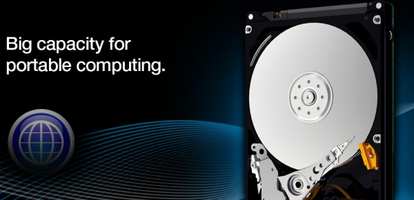 Western Digital Scorpio Blue 1TB Notebook HD