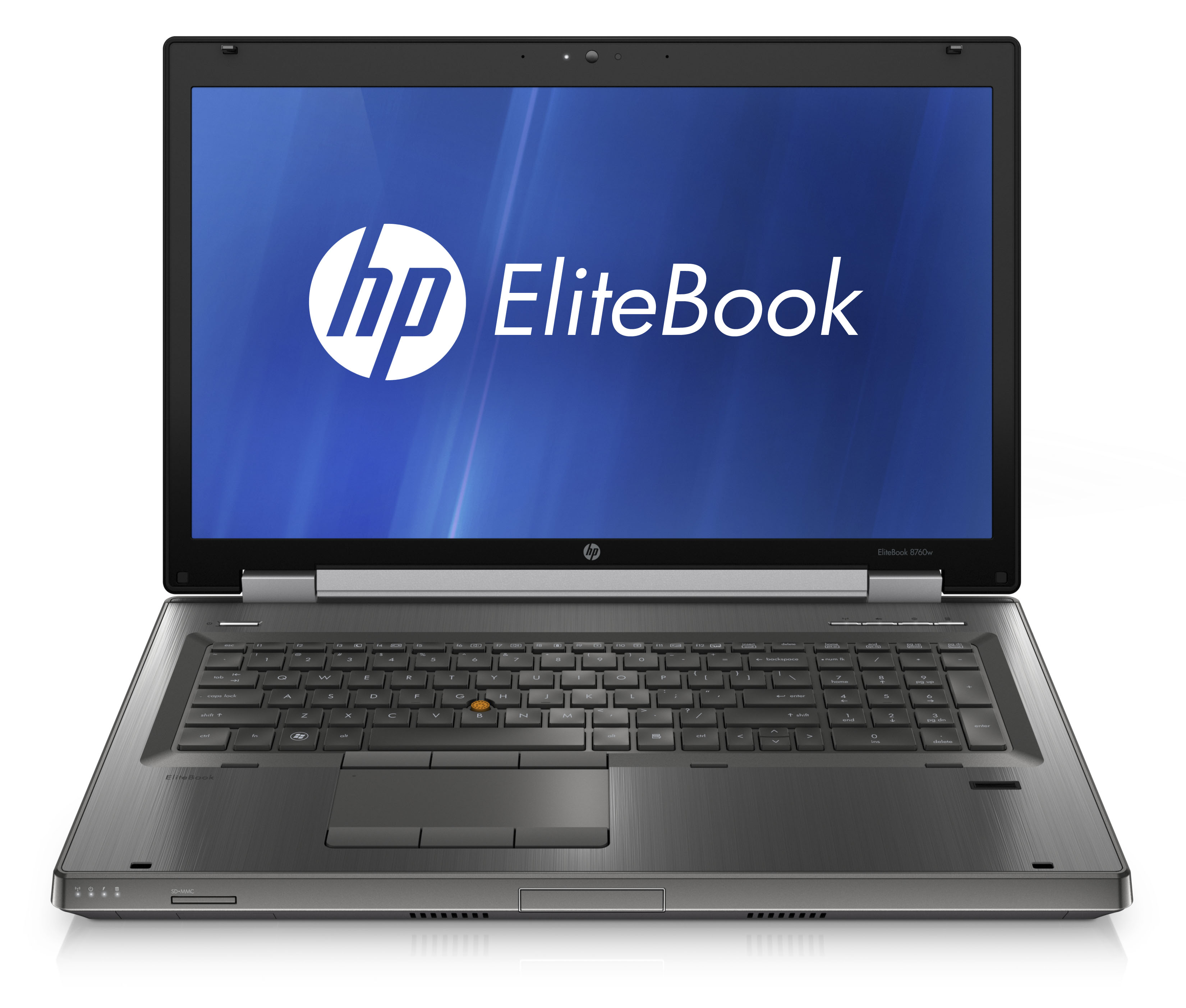 EliteBook 8760w Front Open