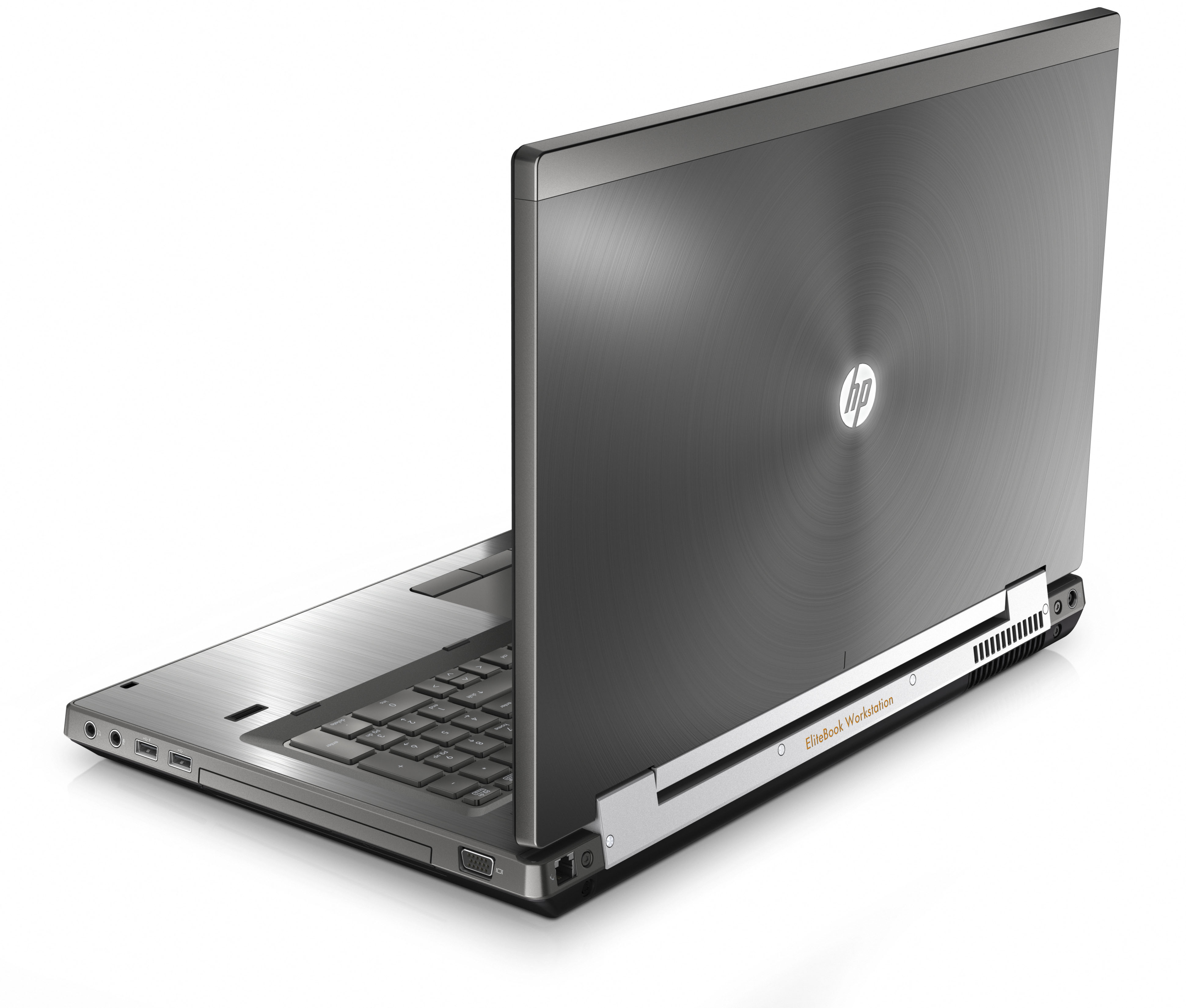 EliteBook 8760w Rear Right Open