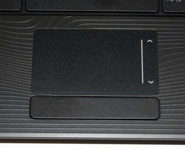 Gateway NV51B05u Trackpad Review
