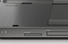 HP Elitebook 8560w CFast Slot Closeup