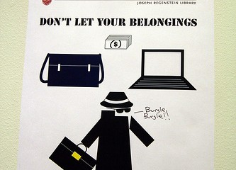 Laptop Theft