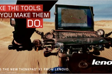 Lenovo ThinkPad X1 Ad - Motorcycle