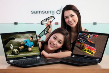 Samsung RF712 bright 3D Gaming Notebook