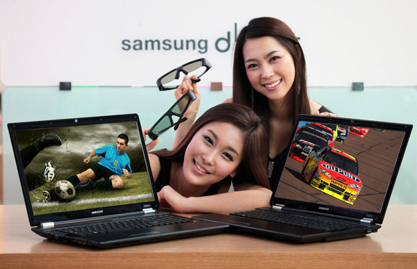 Samsung RF712 bright 3D Gaming Notebook