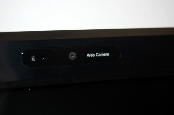 Toshiba L655 Review - Webcam