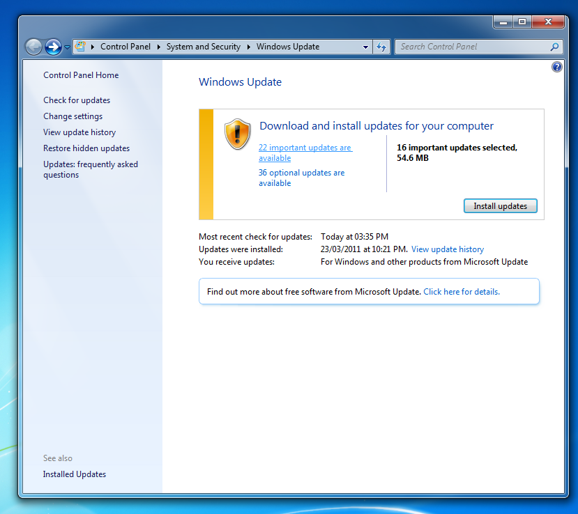 How to stop Internet Explorer 9 from Automatically Installing