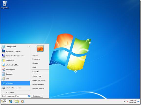 Windows in Diagnostics Mode