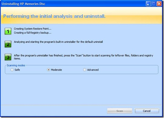 Uninstalling difficult to remove programs