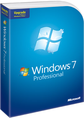 Windows 7 Professional box