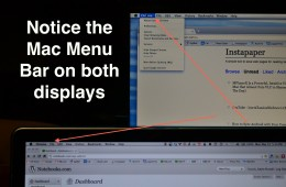 MenuEverywhere puts Mac Menu Bar on External Display too