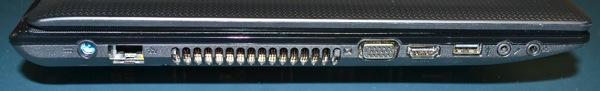 Acer Left Side