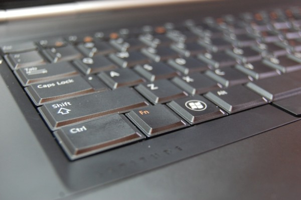 Dell Latitude E5420 review -  keyboard