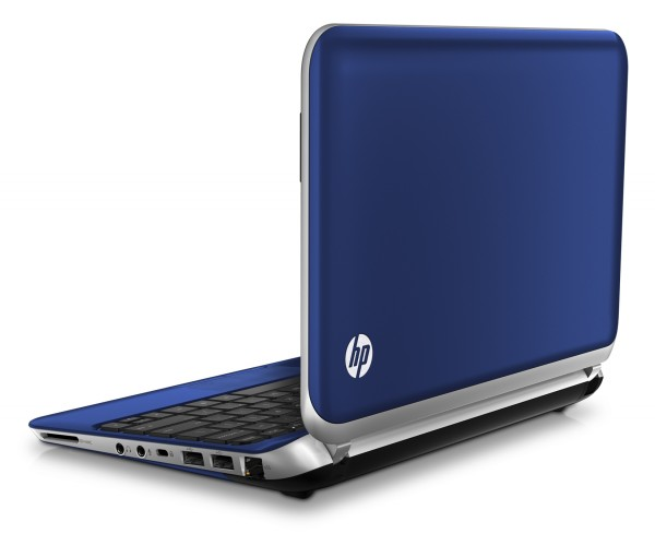 HP Mini 210, pacific blue, Summer 2011