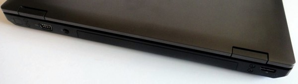 HP ProBook 6560b Review - Rear