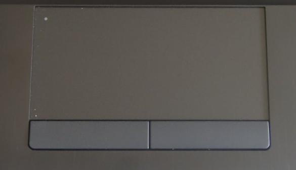 HP ProBook 6560b Review - Mousepad