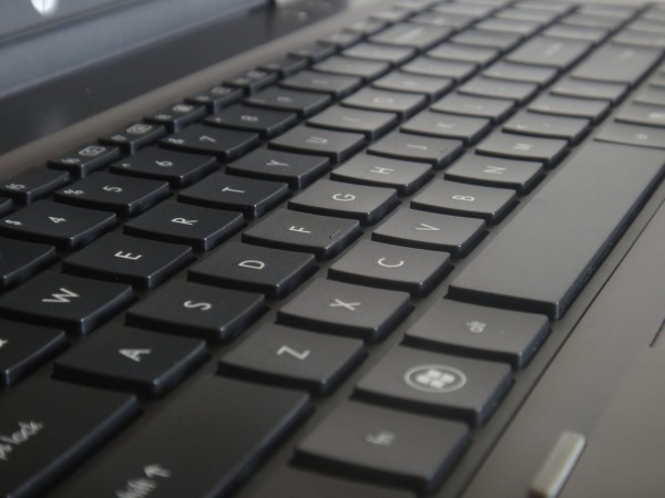 HP ProBook 6560b Review - Keyboard