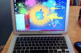 MacBook Air Running Windows 7