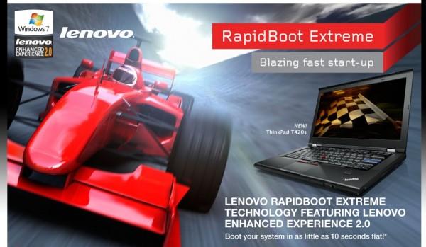Lenovo RapidBoot Extreme