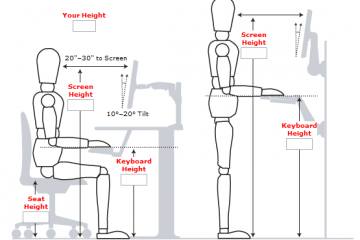 Standing Desk Measurements