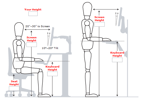 Standing Desk Guide Measurements Examples And Benefits