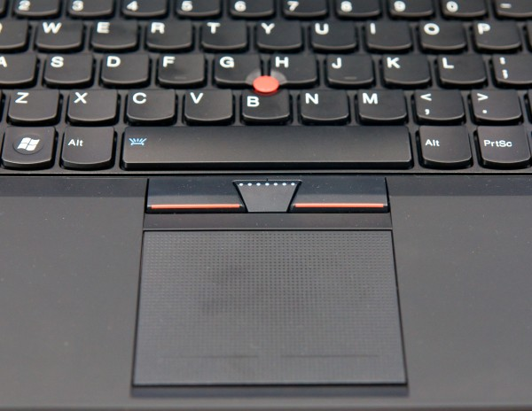 ThinkPad X1 mousepad and TrackPoint