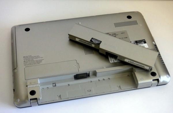 Toshiba Satellite E305 Review - Battery Life