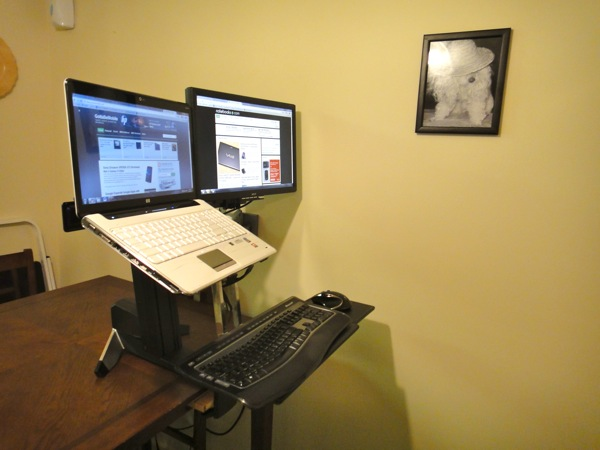 WorkFit s review standing desk