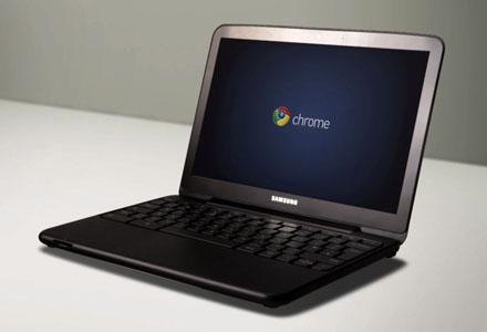 Samsung Chromebook Titanium Silver