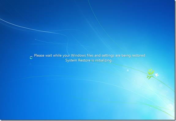 Windows System Restore