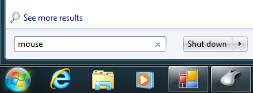 Mouse Settings Windows 7