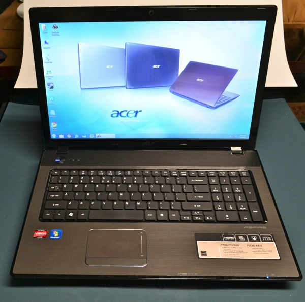 Acer Aspire 7552G-6436 Review