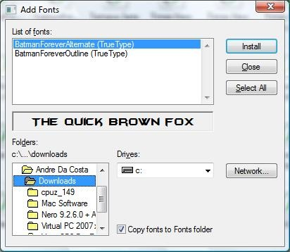 Add font Vista