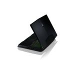 Alienware M18X Side profile right