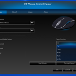 HP WiFI Mouse Settings