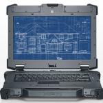 Dell Latitude E6420 XFR front