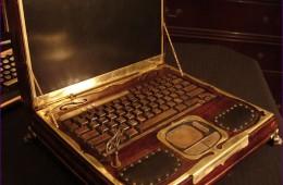 SteamPunk Notebook Open