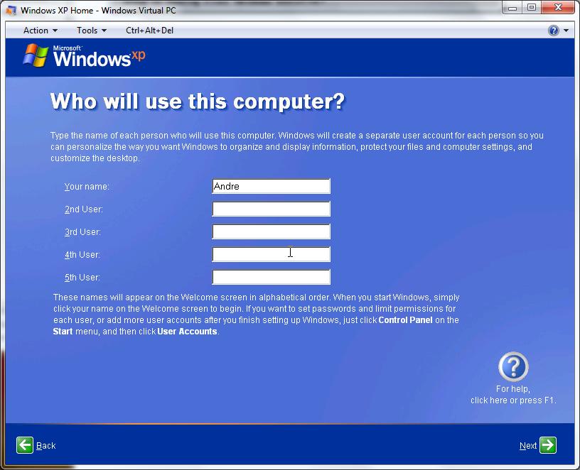 Virtual PC for Windows 7  bit Professional Version ...