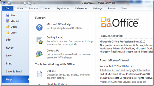 Office 2010 32 bit or 64 bit
