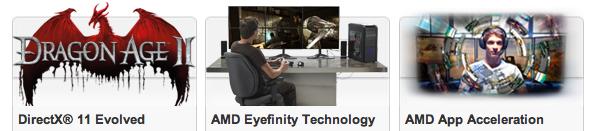 AMD Radeon HD 6990M Features