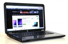 HP Pavilion g6 angled display