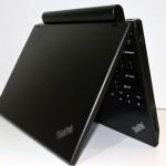 ThinkPad X120e Display Half Open