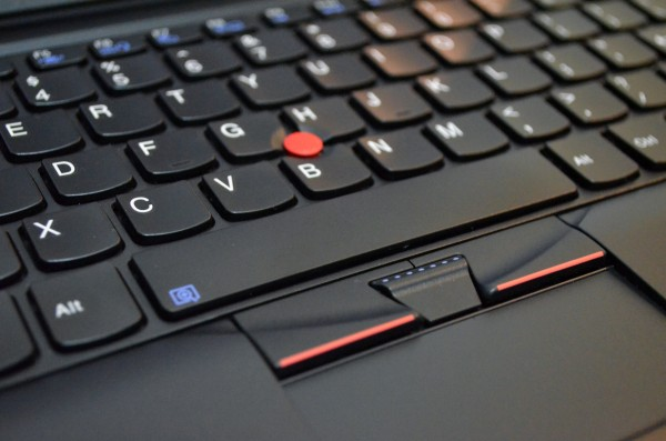 ThinkPad X120e keyboard and TrackPoint