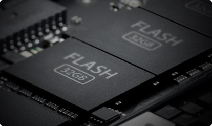 Features flash main