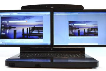 gScreen SpaceBook Dual Screen notebook