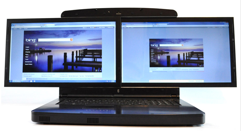 gScreen SpaceBook Dual Screen notebook