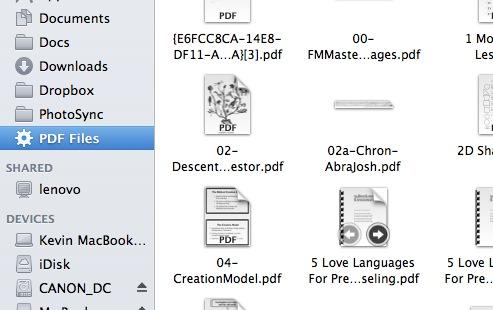 PDF Smart Folders