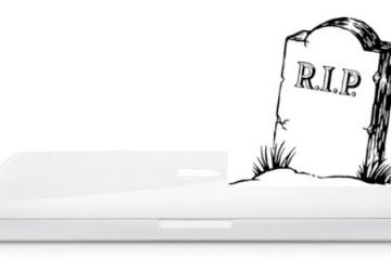 white MacBook Killed Off