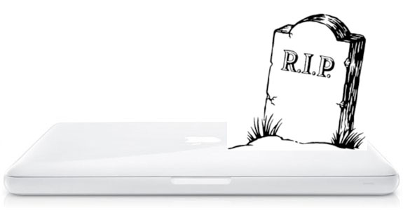 white MacBook Killed Off