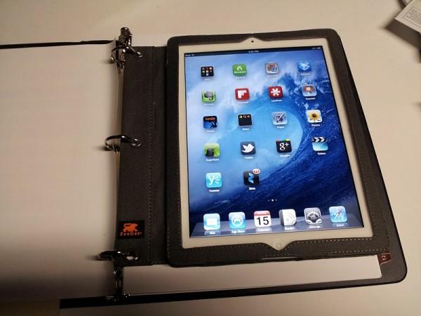ZooGue Binder Pad iPad 2 Case